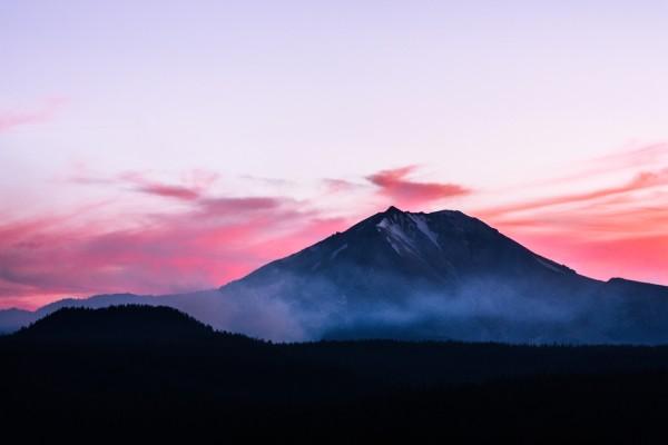 Lassen Sunset from Cinder Cone, Joe Parks