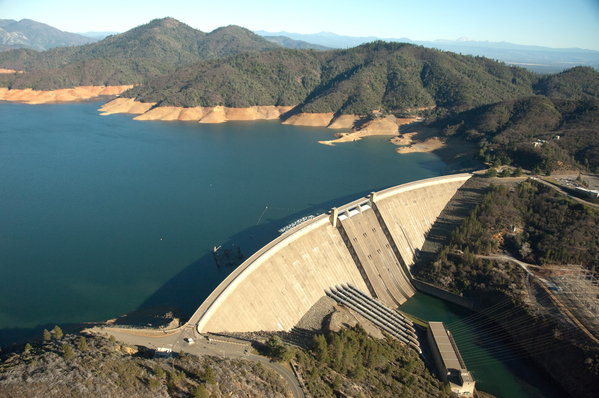 Lake Shasta, a high priority for Section 5937 enforcement (DWR photo by Paul Hames)