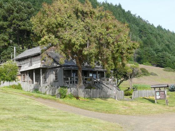 Visitor Center, Sinkyone Wilderness (photo by Rene Rivers)