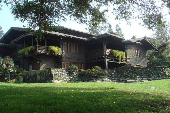 Pasadena's iconic Gamble House built by Greene & Greene for heirs of the Procter & Gamble fortune (photo by Brandon Shigeta)