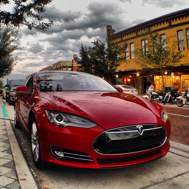 Change is hard, but driving a fun car helps (Tesla Model S, photo by Daniel Paraino)