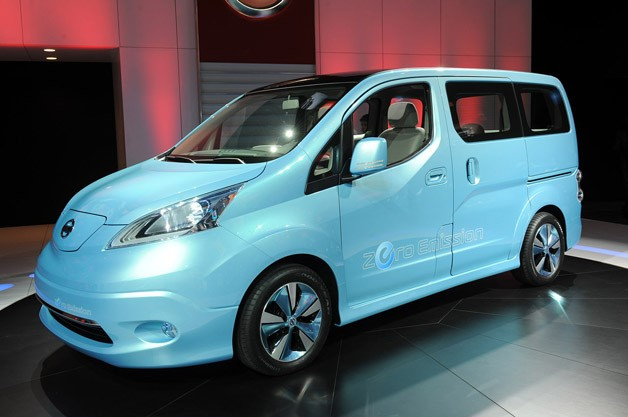The Nissan ENV200 at the 2012 Geneva Auto Show (photo by NRMA Motoring and Services)