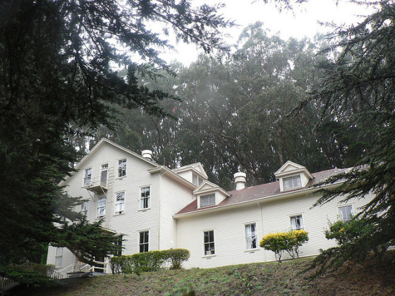 The Marin Headlands Hostel, a military hospital during World War I (photo by Elliott)