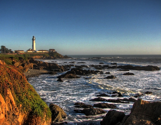 California's hostels sit astride some of the state's most astounding scenery. (photo of Pigeon Point Lighthouse Hostel by by Josiah Mackenzie)