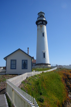 Pigeon Point Lighthouse Hostel (photo by Corey Seeman)